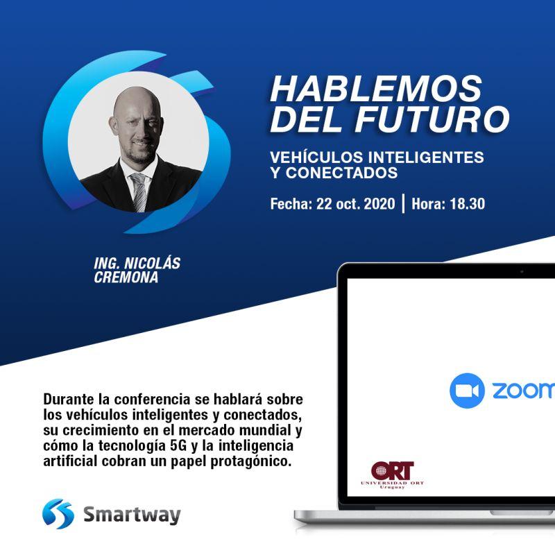 Conferencia «Hablemos del futuro» de la mano de Universidad ORT Uruguay