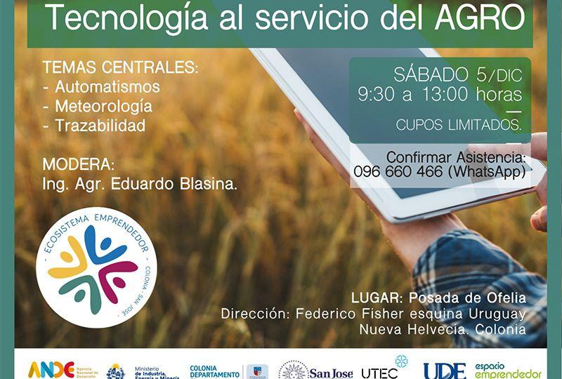 Ronda de negocios: tecnología al servicio del agro